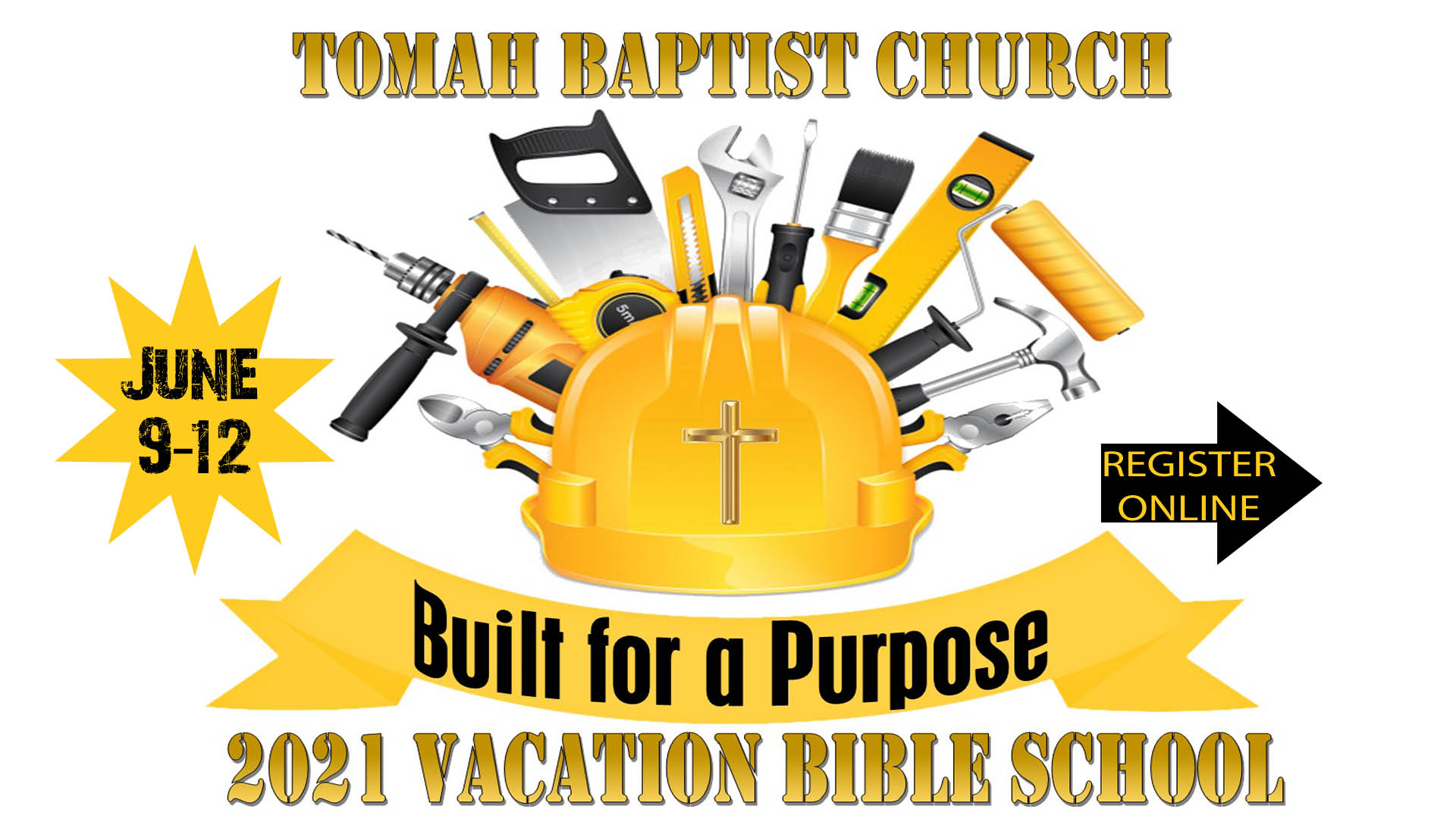 Vacation Bible School 2021 Built for a Purpose